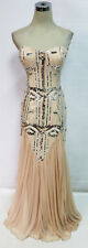 City Triangles Blush Cream Prom Formal Gown 7 - $150 NWT