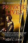 The Mammoth Book of Private Lives (Mammoth Books)