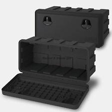 Staubox 40l Deichselbox Unterbaubox PKW Anhänger Kiste Gurtkiste Pritsche Box J1