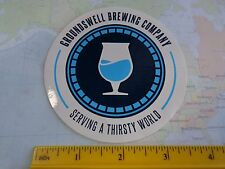 Beer STICKER    GROUNDSWELL Brewing Co ~ San Diego, CALIFORNIA Craft Brewery