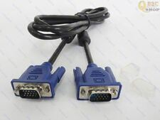 1.5M 15 PIN VGA Monitor M/M Male To Male Cable CORD FOR PC TV