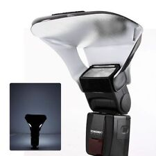 Flash Light Soft Box Photography Diffuser Bender Reflector For Canon Nikon Sony
