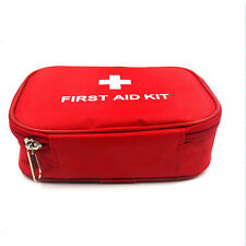 Home First Aid Kit Rescue Outdoor Emergency Bag Case Camping Survival Medical