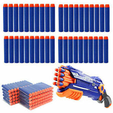 100pcs Kids Refill Toy Gun Bullet Darts Round Head Blasters For NERF N-Strike