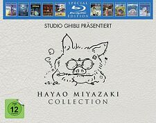 HAYAO MIYAZAKI COLLECTION - SPECIAL EDITION - STUDIO GHIBLI - 10 BLU-RAY NEU