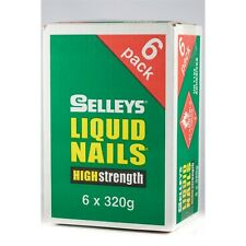 Selleys Liquid Nails 320g Construction Adhesive - 6 Pack