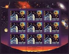 RUSSIA MNH 2009 EUROPA ASTRONOMY SHEETLET