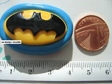 Batman Logo Silicone Mould/Mold Sugarcraft, Chocolate, Cupcakes, Cake Toppers
