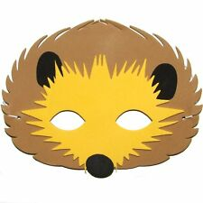 Foam Cute Hedgehog Mask - Animal Fancy Dress For Children & Grown Ups