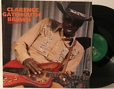 CLARENCE GATEMOUTH BROWN~PRESSURE COOKER~RARE ALLIGATOR TEXAS BLUES LP~MINT