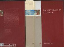 2005 - LA LETTERATURA ITALIANA 1 - CORRIERE DELLA SERA - N. BORSELLINO