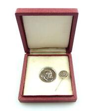 #e4609 Rudolf Virchow Preis Medaille & Anstecknadel verliehen bis 1989