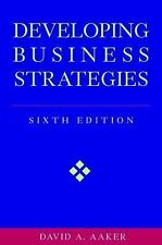 Developing Business Strategies, 6th Edition-ExLibrary