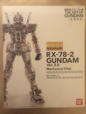 BANDAI MG 1/100 RX-78-2 Gundam Ver.3.0 color clear The Art of Gundam limited kit