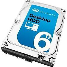 Seagate Desktop HDD ST6000DM001 6TB 5900RPM SATA 6.0GB/s 128MB Hard Drive