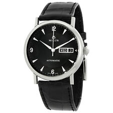 Milus Xephios Automatic Black Dial Mens Watch XEPSP01