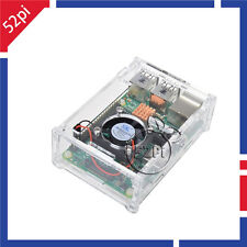 4 IN 1 Raspberry Pi 2 Model B 1GB RAM Quad Core + Clear Case + Fan + Heatsinks