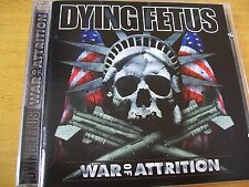 DYING FETUS WAR  OF ATTRITION  CD MINT-