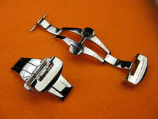 22mm Polish Swiss Stainless DEPLOYMENT CLASP BUCKLE PANERAI 24 mm STRAP PO
