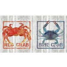 """Andover Crab Shack AD 8300 C Digital 24"""" Panel COTTON Fabric BTY FREE SHIPPING"""
