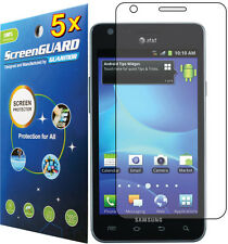 5x Clear LCD Screen Protector Guard Film for ATT Samsung Galaxy S 2 II S2 i777