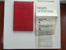 Preservation of Personal Health in Warm Climates 1971 & Assoc Leaflets