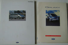 Ford Galaxy Original 1995 UK Launch Press Kit Aspen GLX Ghia inc. photos