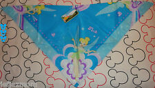 **@DISNEY'S TINKER BELL BLUE NECK SCARF/WRAP/BANDANA**ALL NEW! TRIPS/GIFTS :-)