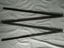 Vintage Wooden Folding Measuring Stick  126""