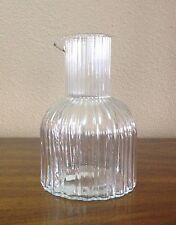 Metropolitan Museum Of Art Glass Decanter, Original Labels, Made In Portugal