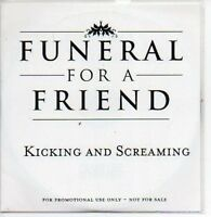 (165A) Funeral For A Friend, Kicking & Screaming- DJ CD