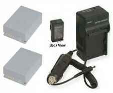 NB-7L NB7L 2 Batteries + Charger for Canon G11 G12 SX30