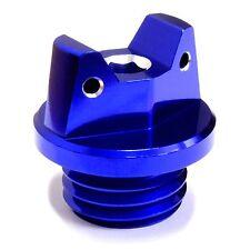 MotoSculpt Oil Fill Cap Plug for Honda CRF150R CRF250R CRF450RX TRX450R - BLUE