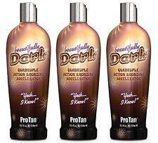 ProTan Pro Tan Beautifully Dark Bronzer Indoor Tanning Salon Bronzing Tan Lot...