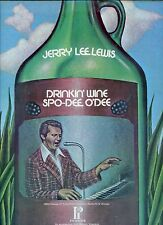 JERRY LEE LEWIS drinkin wine spo-dee o'dee US EX LP