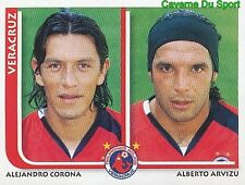 312 ALEJANDRO CORONA / ARVIZU CD.VERACRUZ MEXICO STICKER SUPERFUTBOL 2009 PANINI