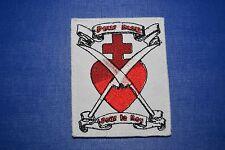 patch écusson insigne tissu religieux royaliste Chouannerie scoutisme catholique