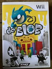 De Blob ~ Nintendo Wii ~ Cult Launch a Colour Rrvolution Videogame