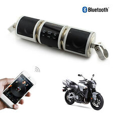 Bluetooth Waterproof Motorcycle Audio Radio Stereo Sound System MP3 Speakers USB