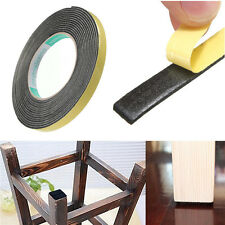 1pc 5M Weather Stripping Sponge Rubber Strip EPDM Tape 2mm*10mm Door Seal New