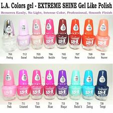 16 PCs L.A.Colors Nail polish Extreme Shine Gel Nail Polish No UV Lamp Needed