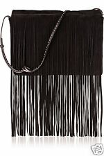 Michael Kors Collection Tasche/Bag Joni  Fringe Messenger CHOCOLATE NEU!
