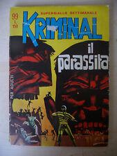KRIMINAL N° 99 IL PARASSITA - FUM0
