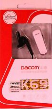 New Dacom K69 Stereo Bluetooth Headset for Mobile Samsung Note3 N9000 i9500 Box