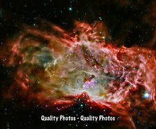 "Flame Nebula 8.5x11"" Photo Print, Stars Born Astronomy Science Fact Outer Space"