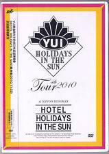 Yui: Hotel Holidays in the sun - 4th Tour 2010 (2011) Japan  /  DVD  TAIWAN