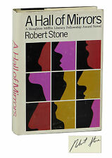 A Hall of Mirrors by ROBERT STONE ~ SIGNED First Edition 1967 ~ 1st Book