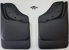 HUSKY LINERS Mud Flap Guards For Chevy S10 & Sonoma w/ ZR2 / Highrider (Rear)