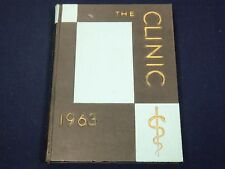 1963 JEFFERSON MEDICAL COLLEGE YEARBOOK - THE CLINIC - GREAT PHOTOS - K 224