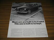 1966 Print Ad The '66 Volvo Cars Built to Be Kept